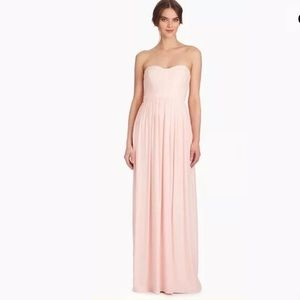 Parker Bayou Maxi Blush Dress $298 Size 6